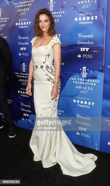 Actress Katie Holmes attends the 2017 Fragrance Foundation Awards at Alice Tully Hall Lincoln Center on June 14 2017 in New York City