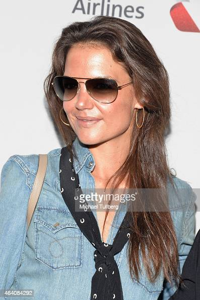 Actress Katie Holmes attends the 3rd Annual 'Gold Meets Golden' event to celebrate the 2015 Special Olympic Games at Equinox Sports Club West LA on...