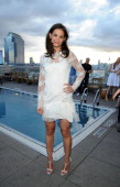 Actress Katie Holmes attends the ASP The World Surf League cocktail party at The Jimmy at the James Hotel on July 24 2014 in New York City