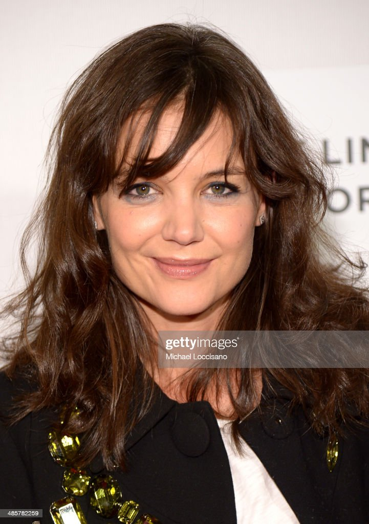 Actress <a gi-track='captionPersonalityLinkClicked' href=/galleries/search?phrase=Katie+Holmes&family=editorial&specificpeople=201598 ng-click='$event.stopPropagation()'>Katie Holmes</a> attends the 'Boulevard' Premiere during the 2014 Tribeca Film Festival at BMCC Tribeca PAC on April 20, 2014 in New York City.