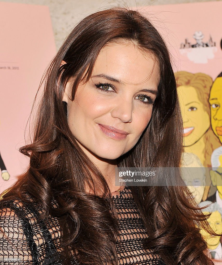 Actress Katie Holmes attends The New York Observer 25th Anniversary Party at Four Seasons Restaurant on March 14, 2013 in New York City.