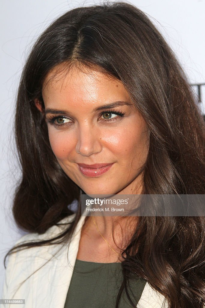 Actress <a gi-track='captionPersonalityLinkClicked' href=/galleries/search?phrase=Katie+Holmes&family=editorial&specificpeople=201598 ng-click='$event.stopPropagation()'>Katie Holmes</a> attends the Opening Night of 'Beauty Culture' at The Annenberg Space For Photography on May 19, 2011 in Century City, California.