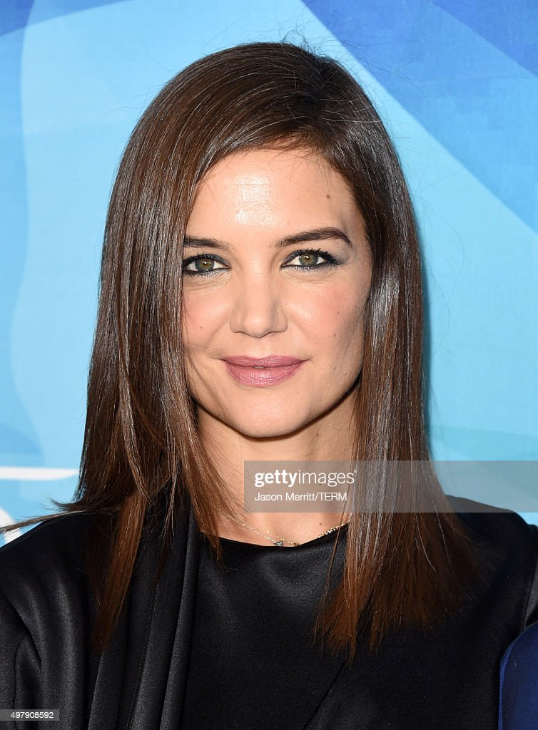 Actress <a gi-track='captionPersonalityLinkClicked' href=/galleries/search?phrase=Katie+Holmes&family=editorial&specificpeople=201598 ng-click='$event.stopPropagation()'>Katie Holmes</a> attends the WWD And Variety inaugural stylemakers' event at Smashbox Studios on November 19, 2015 in Culver City, California.