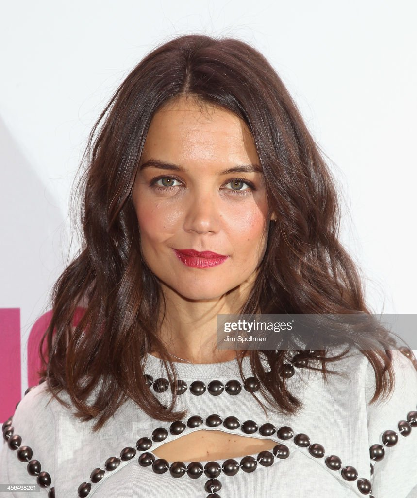 Actress <a gi-track='captionPersonalityLinkClicked' href=/galleries/search?phrase=Katie+Holmes&family=editorial&specificpeople=201598 ng-click='$event.stopPropagation()'>Katie Holmes</a> attends Z100's Jingle Ball 2013 at Madison Square Garden on December 13, 2013 in New York City.