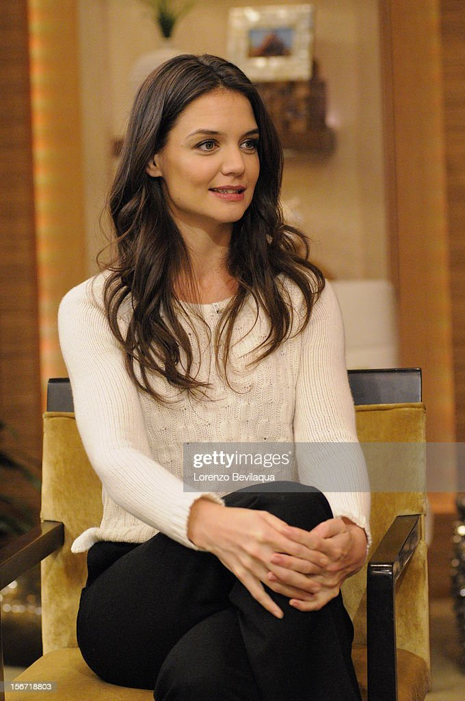 MICHAEL -11/19/12 - Actress KATIE HOLMES talks about returning to Broadway in ''Dead Accounts,' on the newly-rechristened syndicated talk show, LIVE with Kelly and Michael,' distributed by Disney-ABC Domestic Television. HOLMES