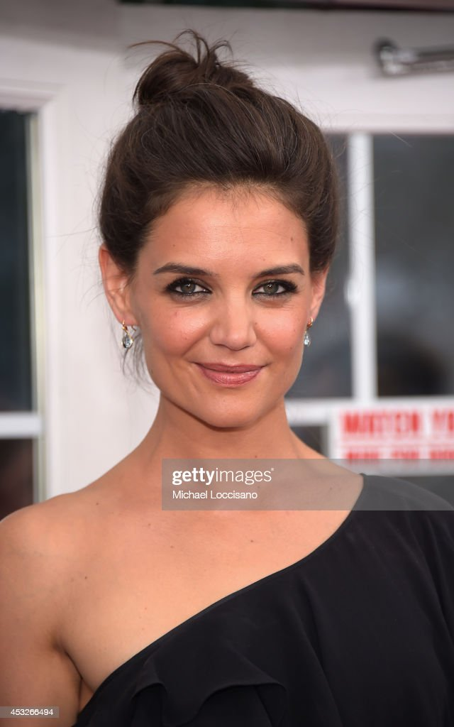 Actress Katie Holmes 'The Giver' attends the The 2nd Annual Lexus Short Films 'Life is Amazing' New York premiere presented by The Weinstein Company...