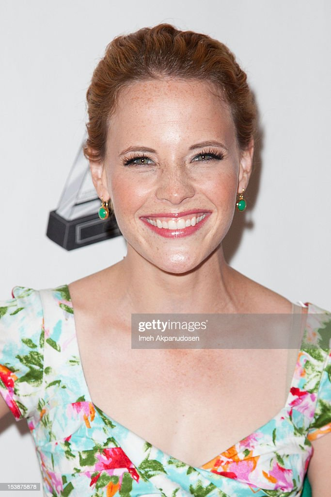 Actress Katie Leclerc attends The 2012 Media Access Awards on October 10, 2012 in Beverly Hills, California.