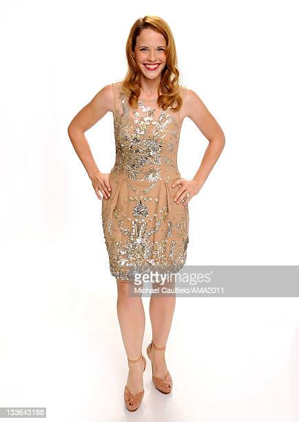 Actress Katie Leclerc poses for a portrait at the 2011 American Music Awards held at Nokia Theatre LA LIVE on November 20 2011 in Los Angeles...