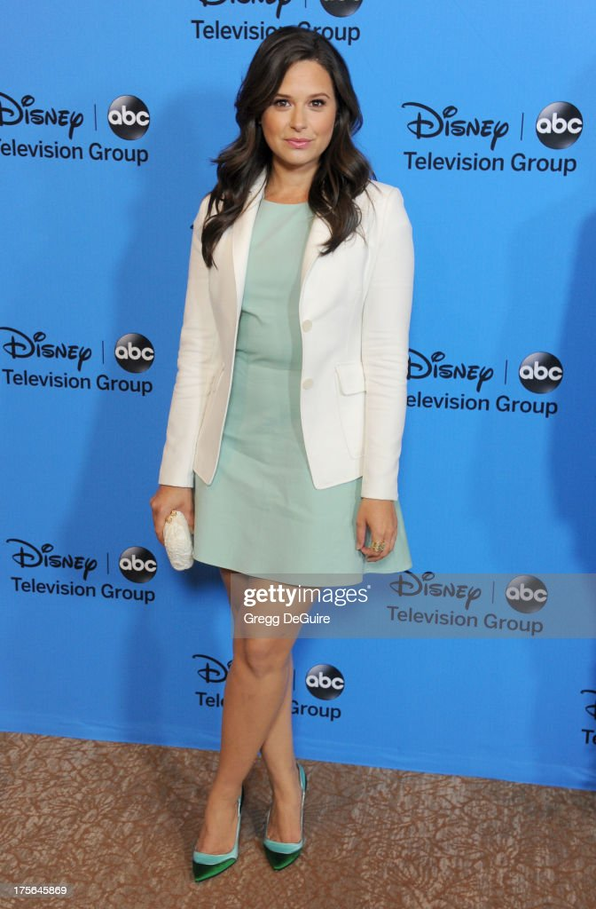 Actress <a gi-track='captionPersonalityLinkClicked' href=/galleries/search?phrase=Katie+Lowes&family=editorial&specificpeople=5527804 ng-click='$event.stopPropagation()'>Katie Lowes</a> arrives at the 2013 Disney/ABC Television Critics Association's summer press tour party at The Beverly Hilton Hotel on August 4, 2013 in Beverly Hills, California.