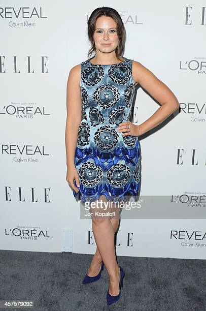 Actress Katie Lowes arrives at the 21st Annual ELLE Women In Hollywood Awards at Four Seasons Hotel Los Angeles at Beverly Hills on October 20 2014...