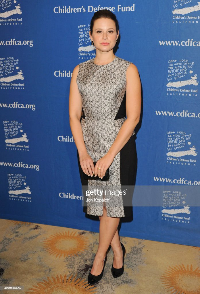 Actress <a gi-track='captionPersonalityLinkClicked' href=/galleries/search?phrase=Katie+Lowes&family=editorial&specificpeople=5527804 ng-click='$event.stopPropagation()'>Katie Lowes</a> arrives at the Children's Defense Fund 23rd Annual Beat The Odds Awards at Beverly Hills Hotel on December 5, 2013 in Beverly Hills, California.