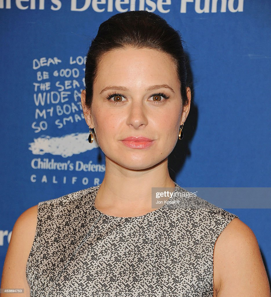 Actress Katie Lowes arrives at the Children's Defense Fund 23rd Annual Beat The Odds Awards at Beverly Hills Hotel on December 5, 2013 in Beverly Hills, California.