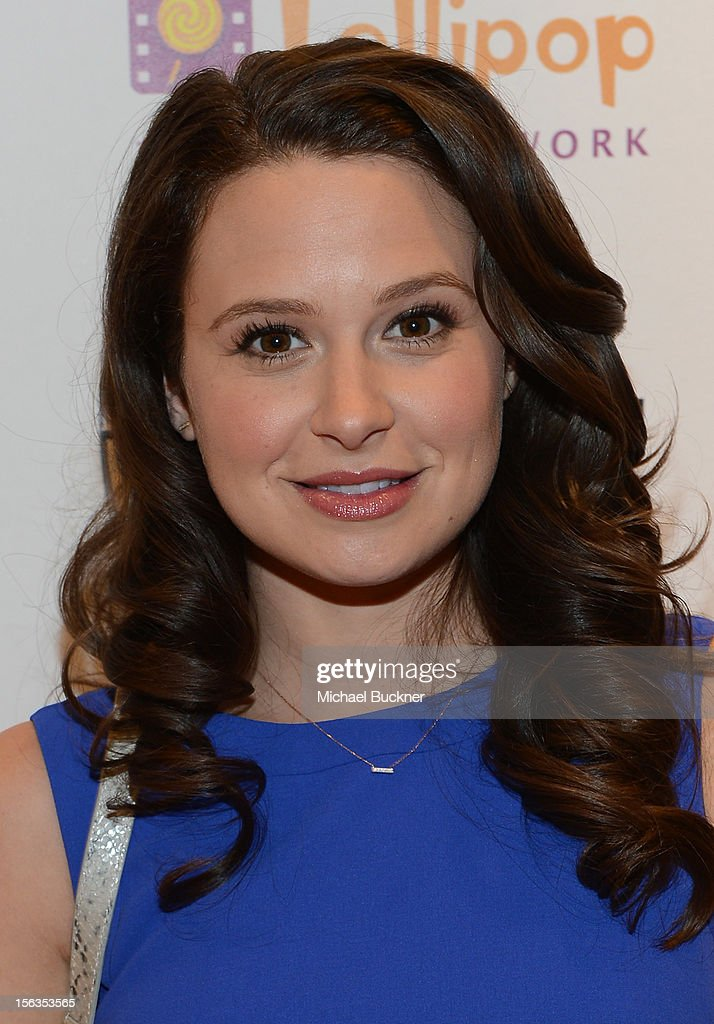 Actress Katie Lowes attend the Faconnable Kicks Off The Holidays Shopping Event Benefitting Lollipop Theater Network at Faconnable on November 13, 2012 in Beverly Hills, California.