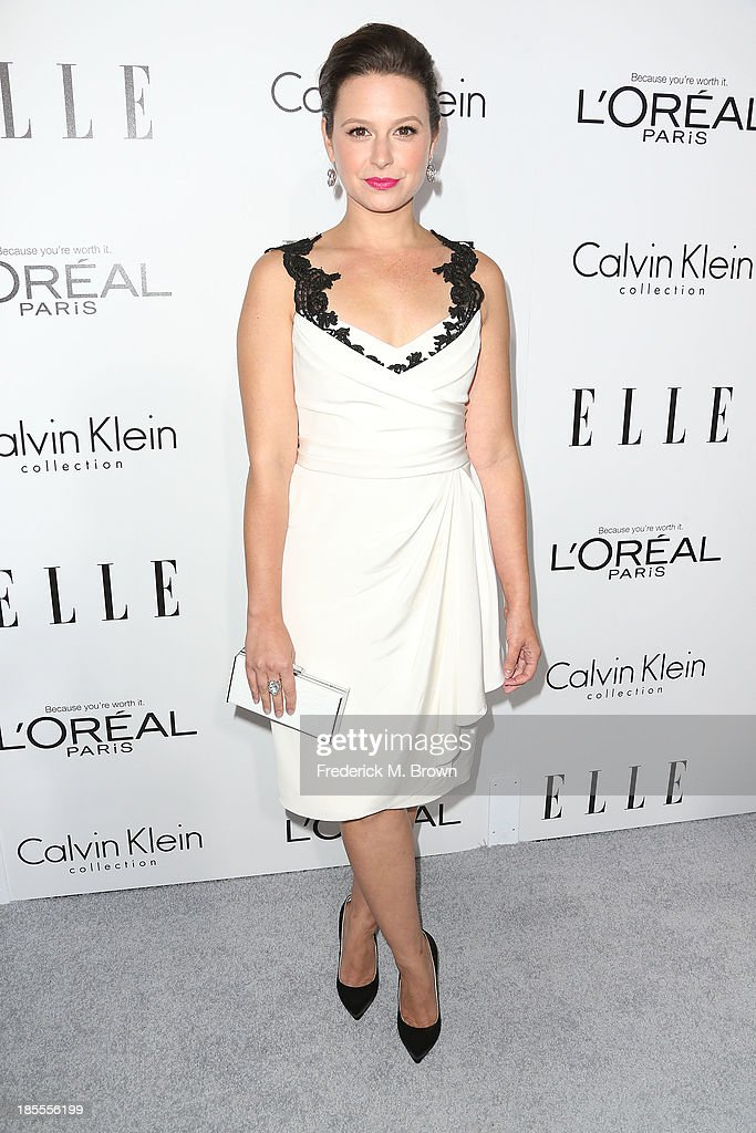 Actress Katie Lowes attends ELLE's 20th Annual Women in Hollywood Celebration at the Four Seasons Hotel Los Angeles at Beverly Hills on October 21, 2013 in Beverly Hills, California.