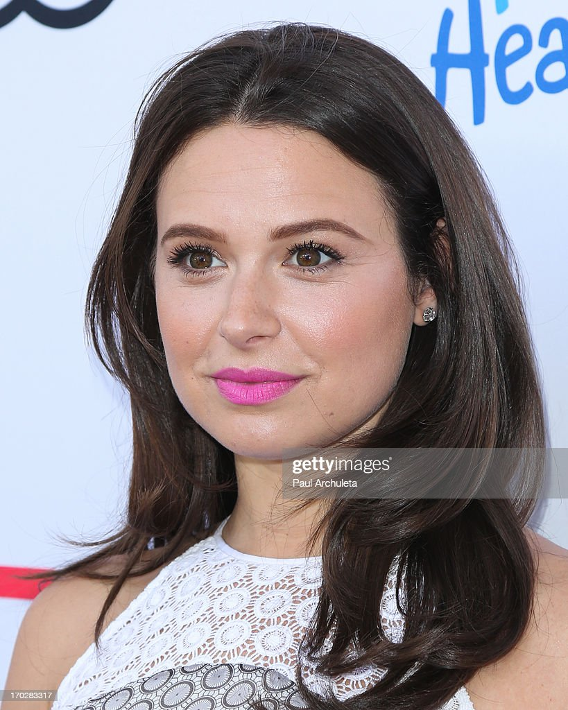 Actress Katie Lowes attends the 1st annual Children Mending Hearts Style Sunday on June 9, 2013 in Beverly Hills, California.