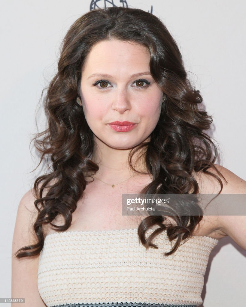 Actress Katie Lowes attends the Academy Of Television Arts & Sciences presentation of 'Welcome To ShondaLand: An Evening With Shonda Rhimes & Friends' at the Leonard H. Goldenson Theatre on April 2, 2012 in North Hollywood, California.