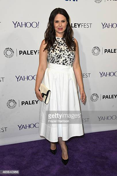 Actress Katie Lowes attends The Paley Center For Media's 32nd Annual PALEYFEST LA 'Scandal' at Dolby Theatre on March 8 2015 in Hollywood California