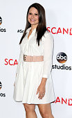 Actress Katie Lowes attends the 'Scandal' ATAS event at the Directors Guild of America on May 1 2015 in Los Angeles California