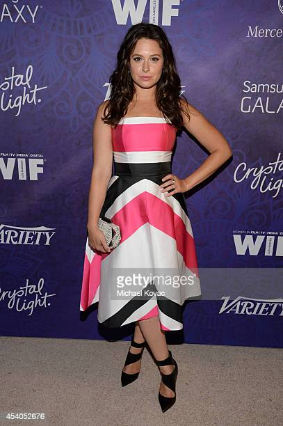 Actress Katie Lowes attends Variety and Women in Film Emmy Nominee Celebration powered by Samsung Galaxy on August 23 2014 in West Hollywood...