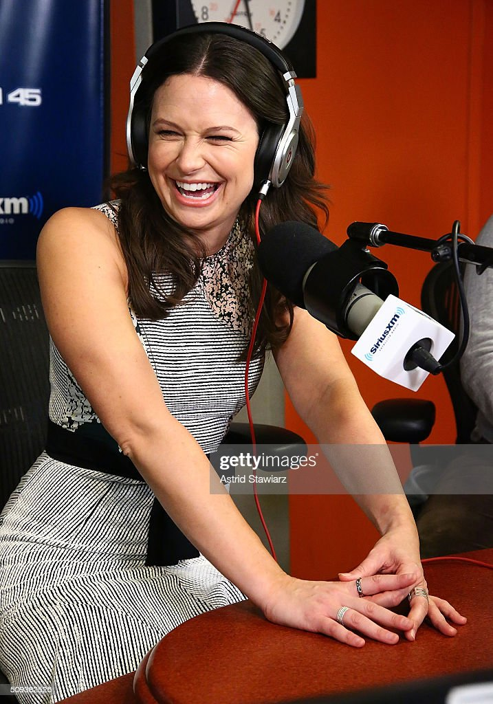Actress <a gi-track='captionPersonalityLinkClicked' href=/galleries/search?phrase=Katie+Lowes&family=editorial&specificpeople=5527804 ng-click='$event.stopPropagation()'>Katie Lowes</a> visits 'Sway in the Morning' with Sway Calloway at the SiriusXM Studios on February 10, 2016 in New York City.