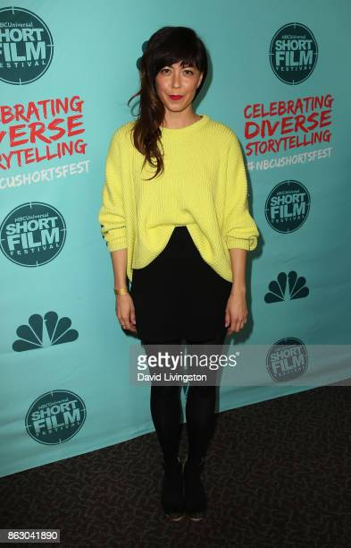Actress Katie Malia attends the 12th Annual NBCUniversal Short Film Festival finale screening at the Directors Guild of America on October 18 2017 in...