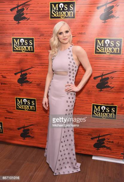 Actress Katie Rose Clarke attends the after party for 'Miss Saigon' Broadway Opening Night at Tavern on the Green on March 23 2017 in New York City