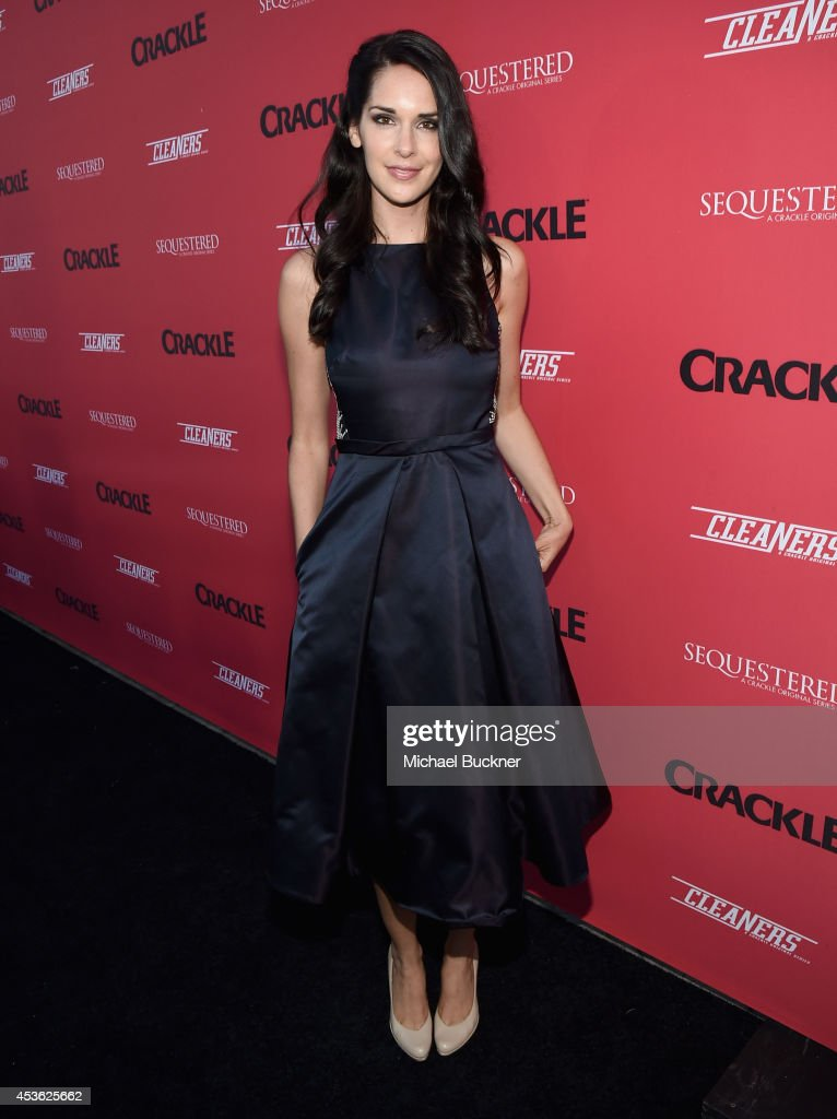 Actress Katie Savoy attends Crackle Presents: Summer Premieres Event for originals, 'Sequestered' and 'Cleaners' at 1 OAK on August 14, 2014 in West Hollywood, California.