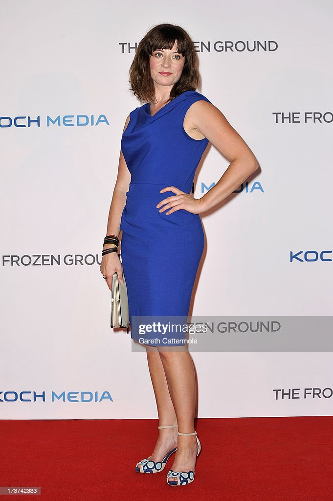 Actress Katie Wallack attends the UK Premiere of 'The Frozen Ground' at Vue West End on July 17, 2013 in London, England.