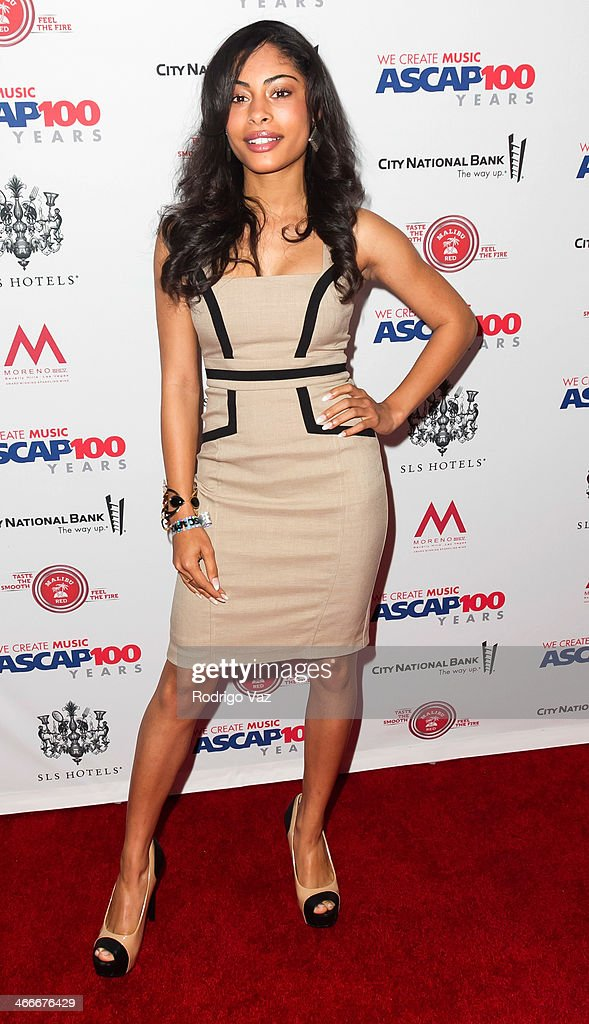 Actress Katlynn Simone attends ASCAP's 2014 Grammy Nominee Brunch at SLS Hotel on January 25, 2014 in Beverly Hills, California.