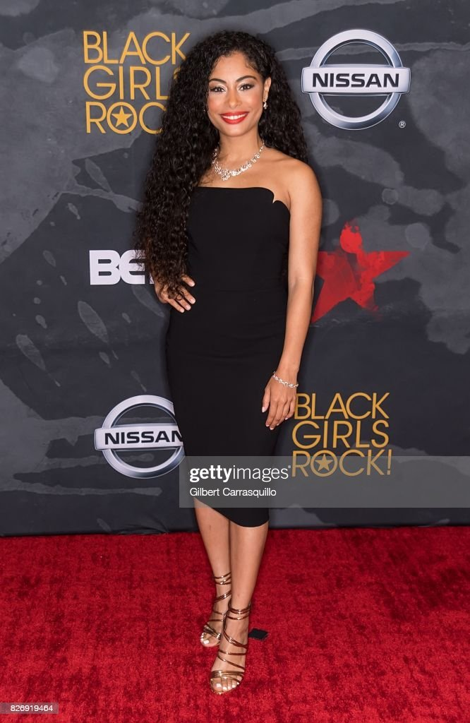 Actress Katlynn Simone attends Black Girls Rock! 2017 at New Jersey Performing Arts Center on August 5, 2017 in Newark, New Jersey.
