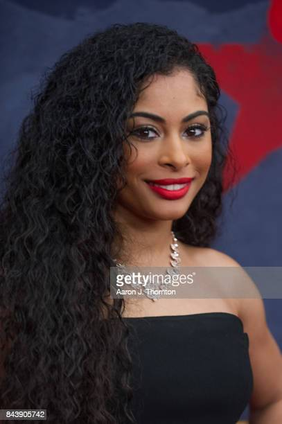 Actress Katlynn Simone attends Black Girls Rock at New Jersey Performing Arts Center on August 5 2017 in Newark New Jersey