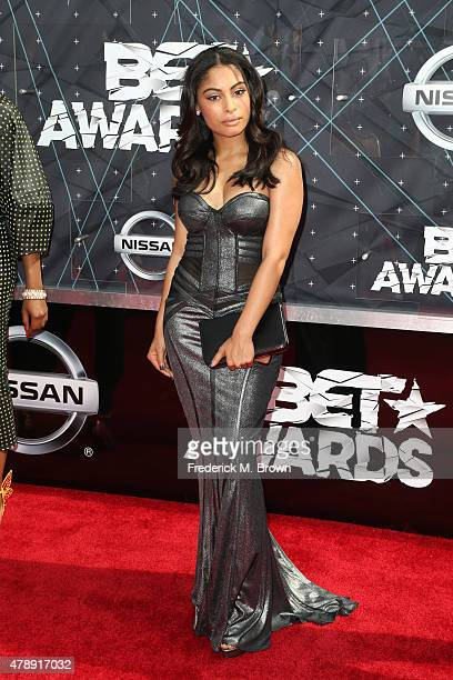 Actress Katlynn Simone attends the 2015 BET Awards at the Microsoft Theater on June 28 2015 in Los Angeles California