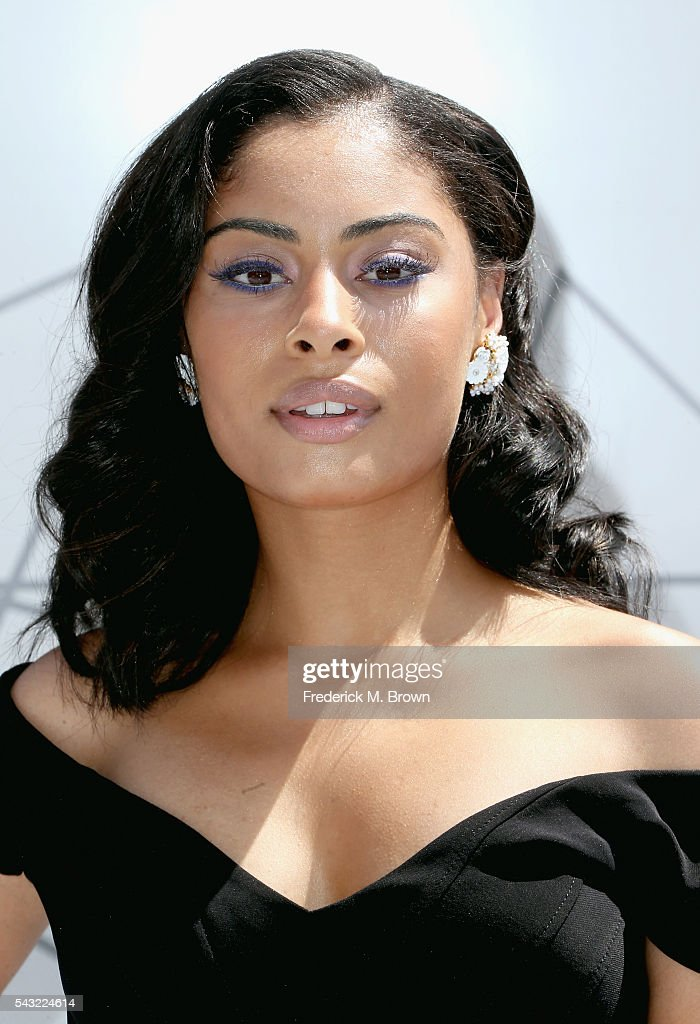 Actress Katlynn Simone attends the 2016 BET Awards at the Microsoft Theater on June 26, 2016 in Los Angeles, California.
