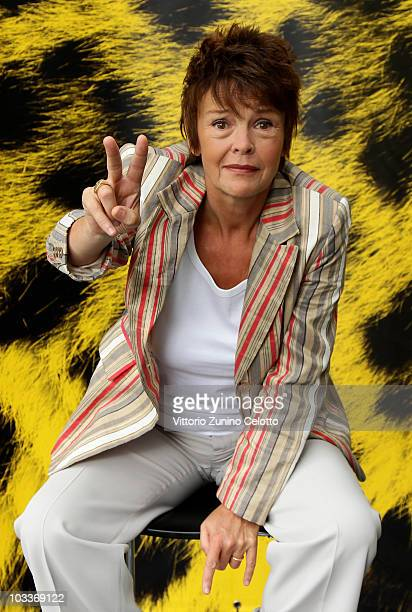Actress Katrin Sass attends a photocall for 'Das Letze Schweigen' during the 63rd Locarno Film Festival on August 13 2010 in Locarno Switzerland