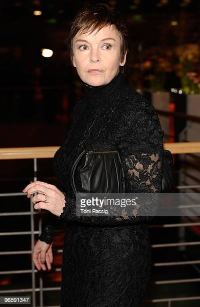 Actress Katrin Sass attends the 'Tuan Yuan' Premiere during day one of the 60th Berlin International Film Festival at the Berlinale Palast on...