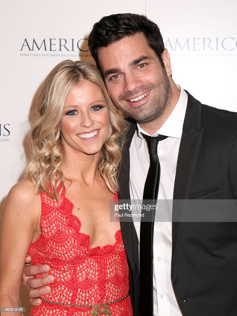 Actress Katrina Begin and actor Michael Masini attend Los Angeles ...