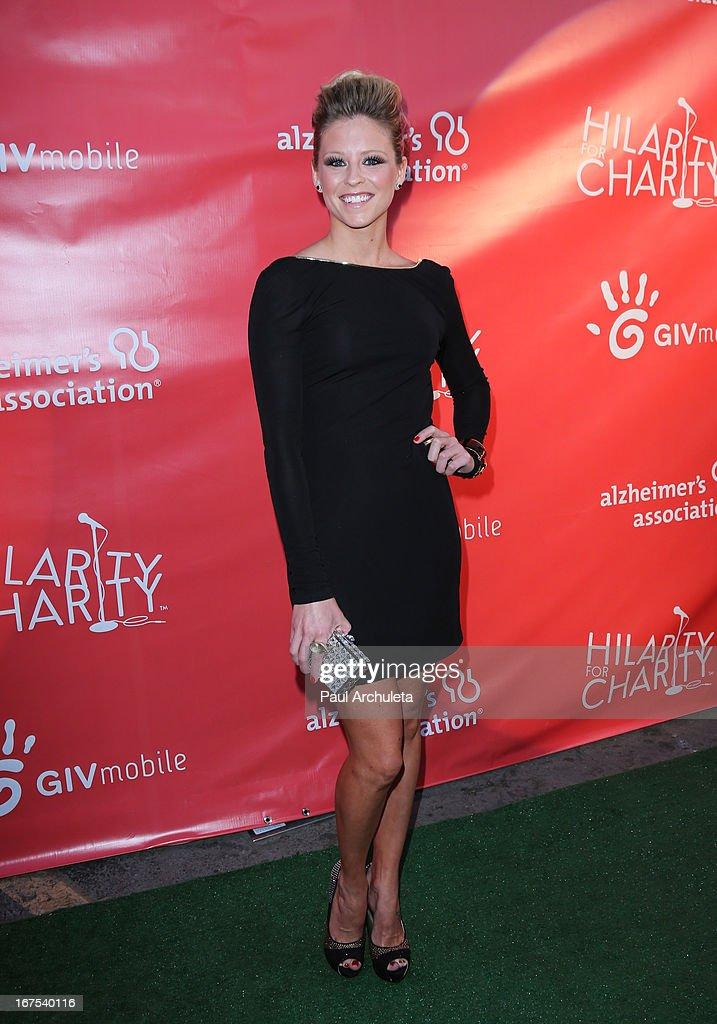 Actress Katrina Begin attends the 2nd annual Hilarity for Charity Event at Avalon on April 25, 2013 in Hollywood, California.