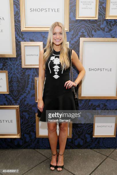 Actress Katrina Bowden attends an exclusive preview of the Marchesa Voyage for ShopStyle collection on September 5 2014 in New York City