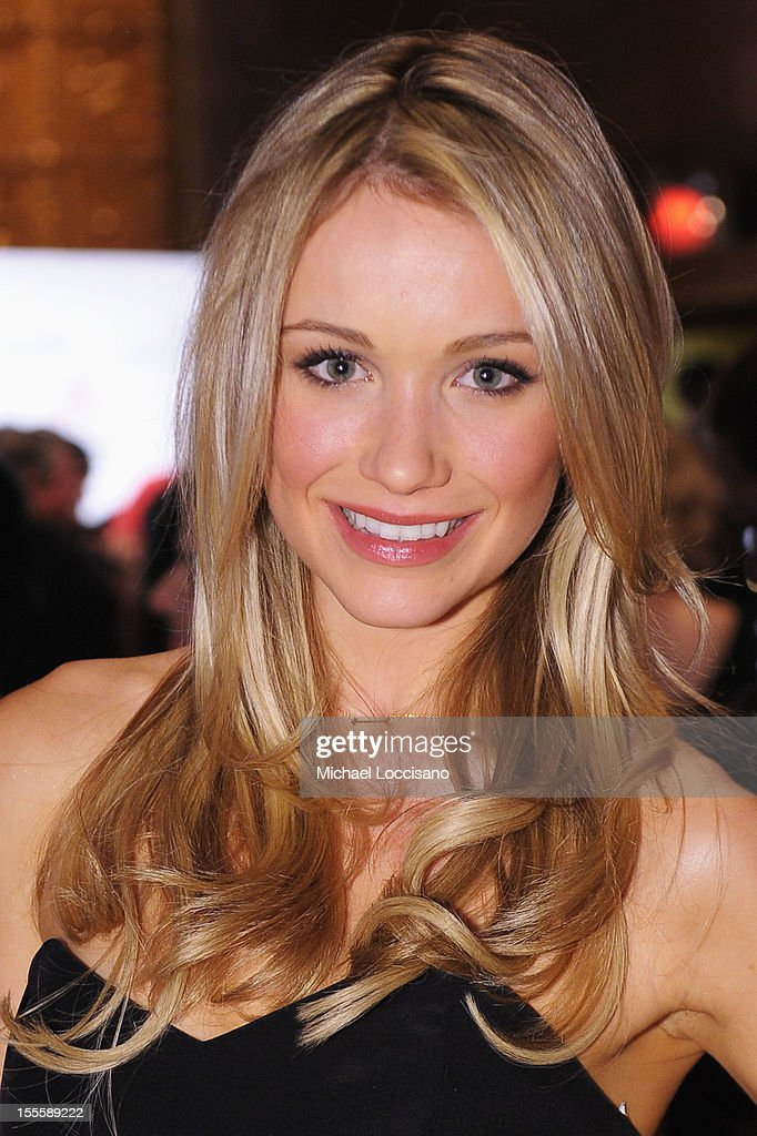 Actress Katrina Bowden attends the 16th Annual ACE Awards presented by the Accessories Council at Cipriani 42nd Street on November 5, 2012 in New York City.