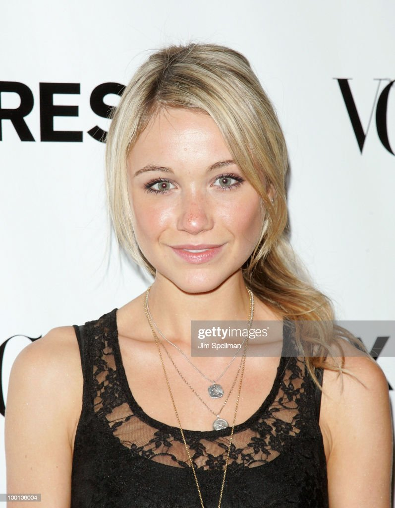 Actress Katrina Bowden attends the EXPRESS 30th anniversary party at Eyebeam on May 20, 2010 in New York City.