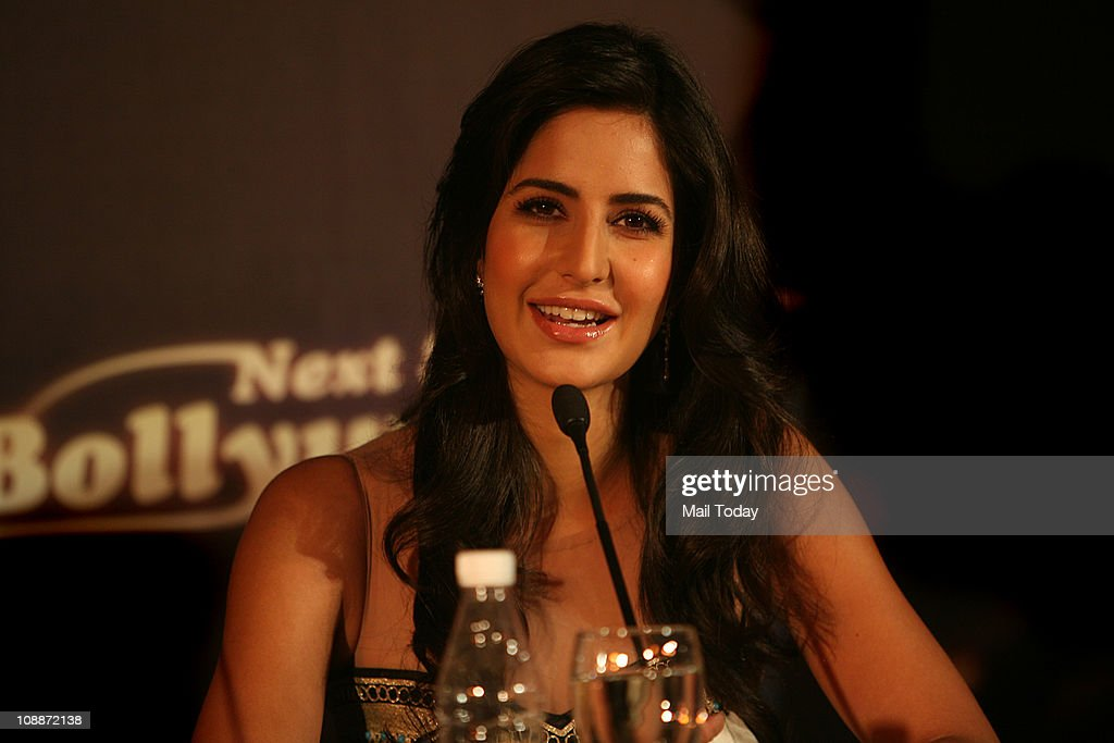 Actress Katrina Kaif during a promotional event of Etihad Airways in New Delhi on Thursday