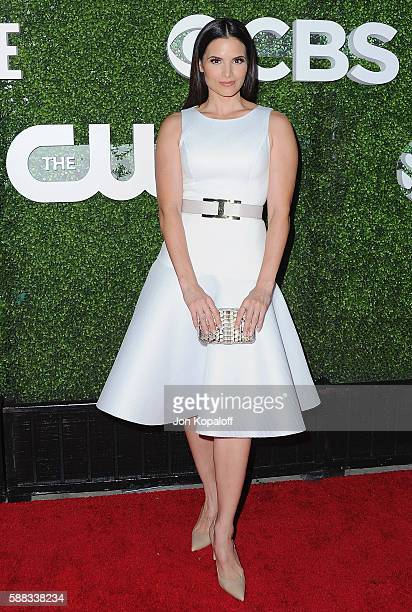 Actress Katrina Law arrives at CBS CW Showtime Summer TCA Party at Pacific Design Center on August 10 2016 in West Hollywood California