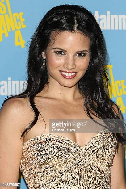 Actress Katrina Law arrives at Entertainment Weekly's ComicCon celebration at Float at Hard Rock Hotel San Diego on July 14 2012 in San Diego...