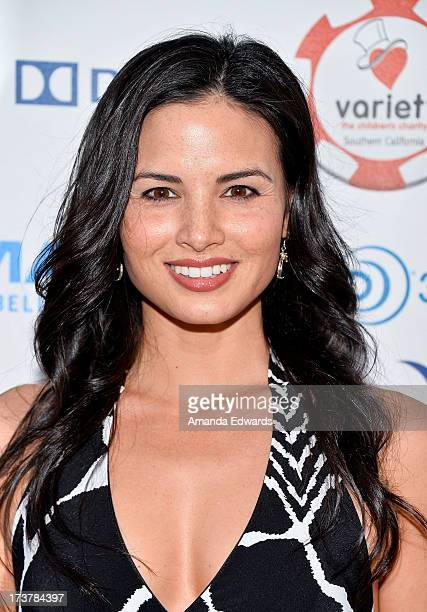 Actress Katrina Law arrives at The Children's Charity Of Southern California Texas Hold 'Em Poker Tournament hosted by Variety at Paramount Studios...