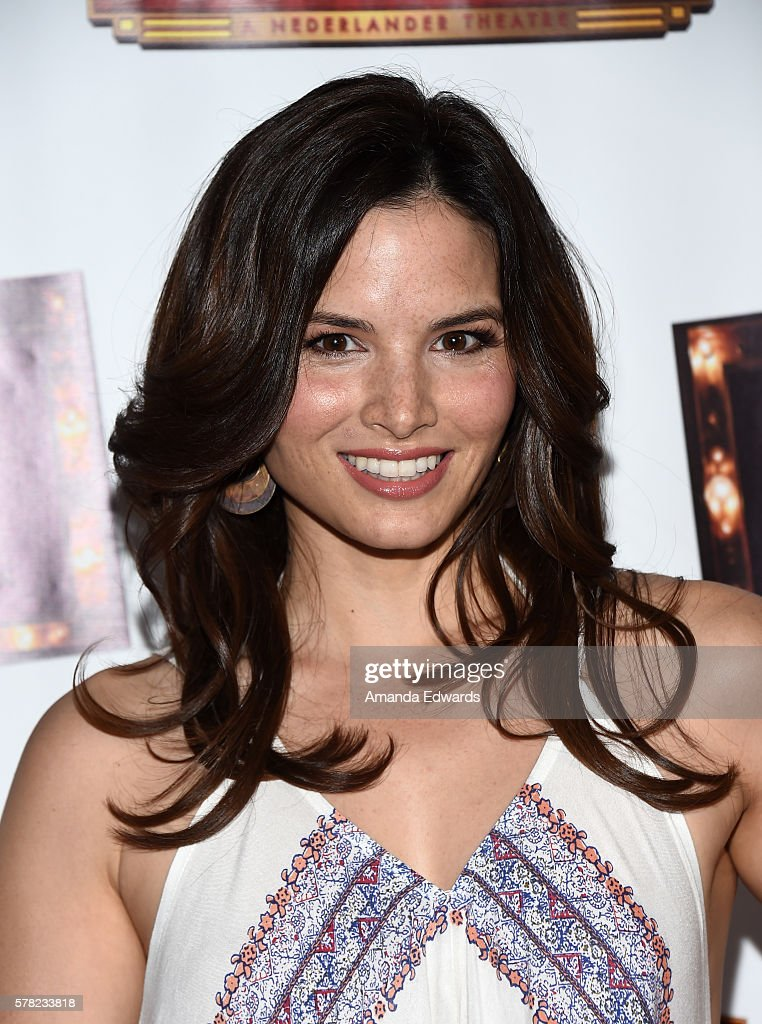 Actress Katrina Law arrives at the opening of 'Cabaret' at the Hollywood Pantages Theatre on July 20, 2016 in Hollywood, California.