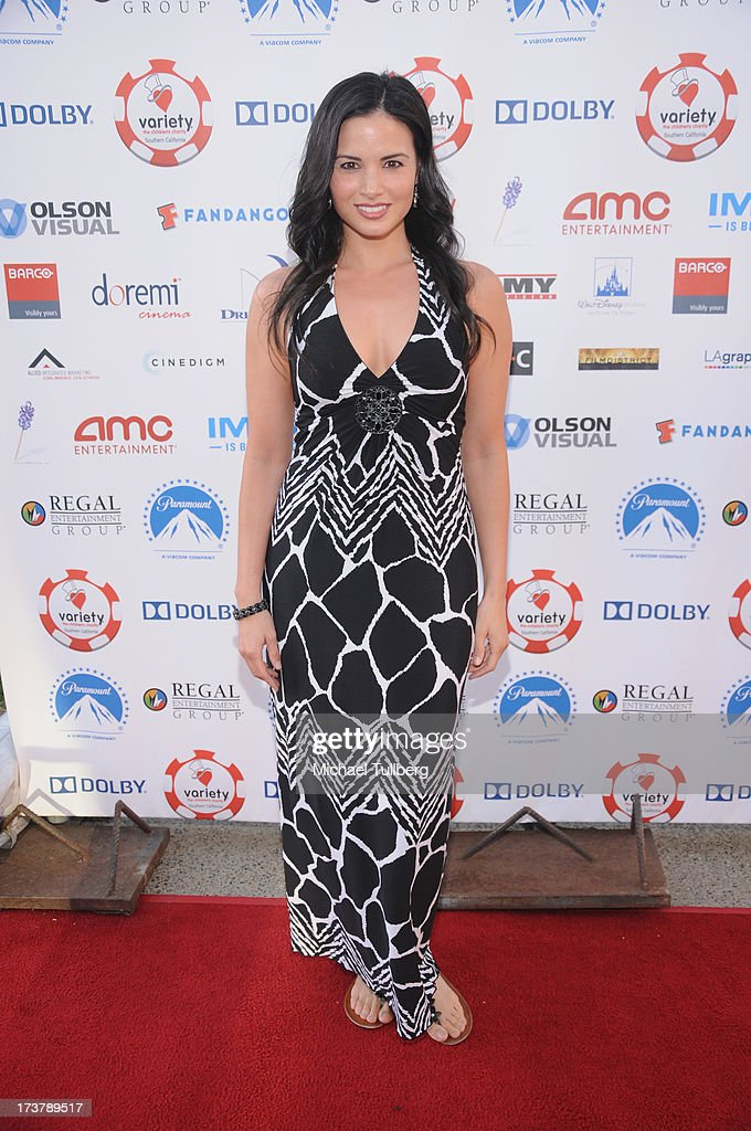 Actress <a gi-track='captionPersonalityLinkClicked' href=/galleries/search?phrase=Katrina+Law&family=editorial&specificpeople=4529605 ng-click='$event.stopPropagation()'>Katrina Law</a> attends the 3rd Annual Variety Charity Texas Hold 'Em Tournament & Casino Game at Paramount Studios on July 17, 2013 in Hollywood, California.