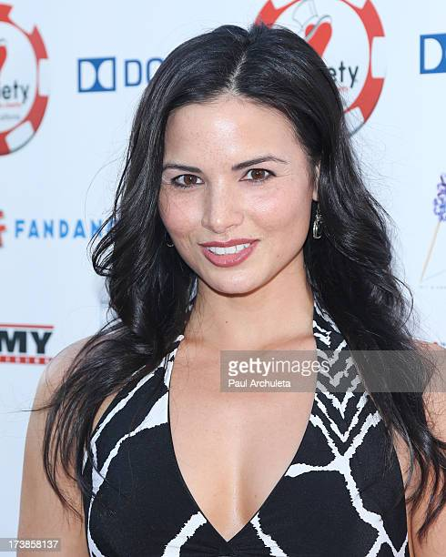 Actress Katrina Law attends the 3rd annual Variety Charity Texas Hold 'Em Tournament Casino Game at Paramount Studios on July 17 2013 in Hollywood...