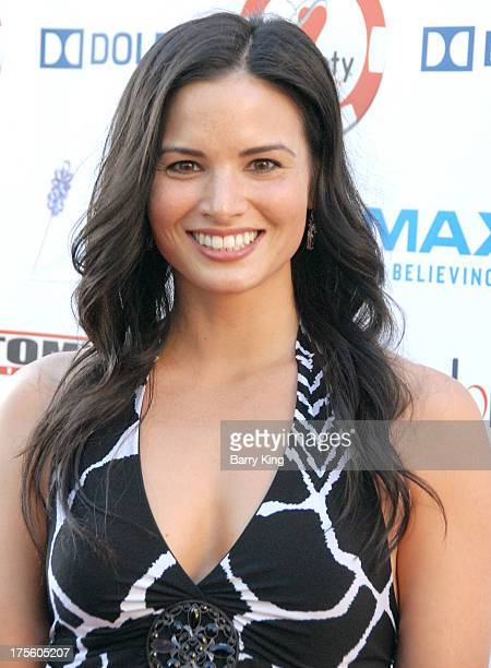 Actress Katrina Law attends the 3rd annual Variety Charity Texas Hold 'Em Tournament Casino Game on July 17 2013 at Paramount Studios in Hollywood...