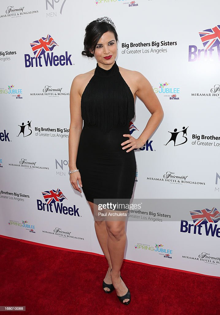 Actress Katrina Law attends the Britweek celebration of 'Downton Abbey' at Fairmont Miramar Hotel on May 3, 2013 in Santa Monica, California.