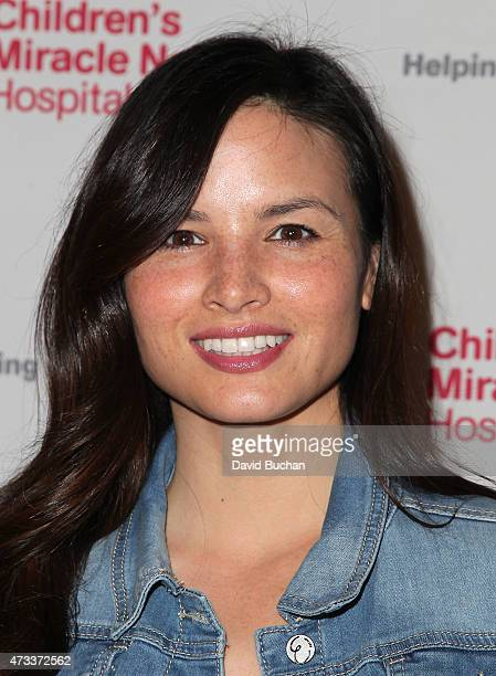 Actress Katrina Law attends the Jennifer Lopez and Marie Osmond launch of the 'Put Your Money Where The Miracles Are' campaign at Avalon on May 14...